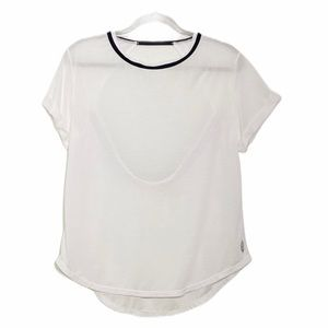 Free people FP Movement zephyr open back Top